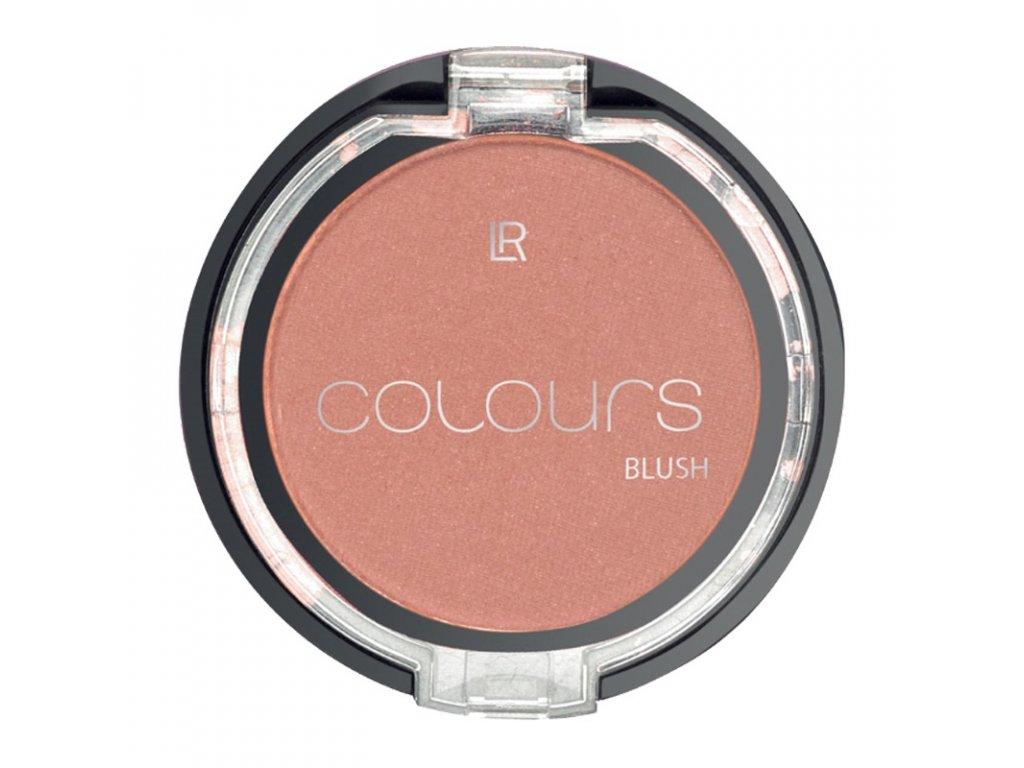 LR Colours Púdrová tvárenka (odtieň Warm Peach) 4 g