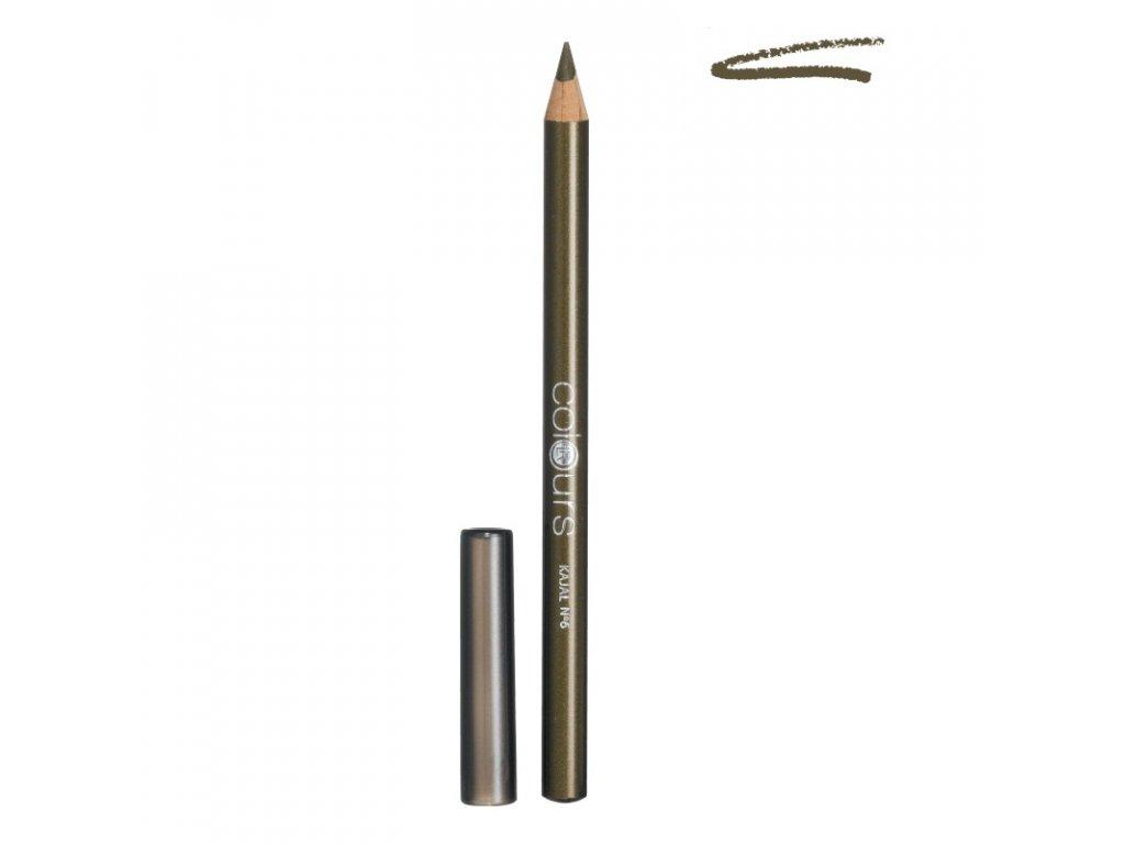 LR Colours Kajalová ceruzka (Olive Green) 1,1 g