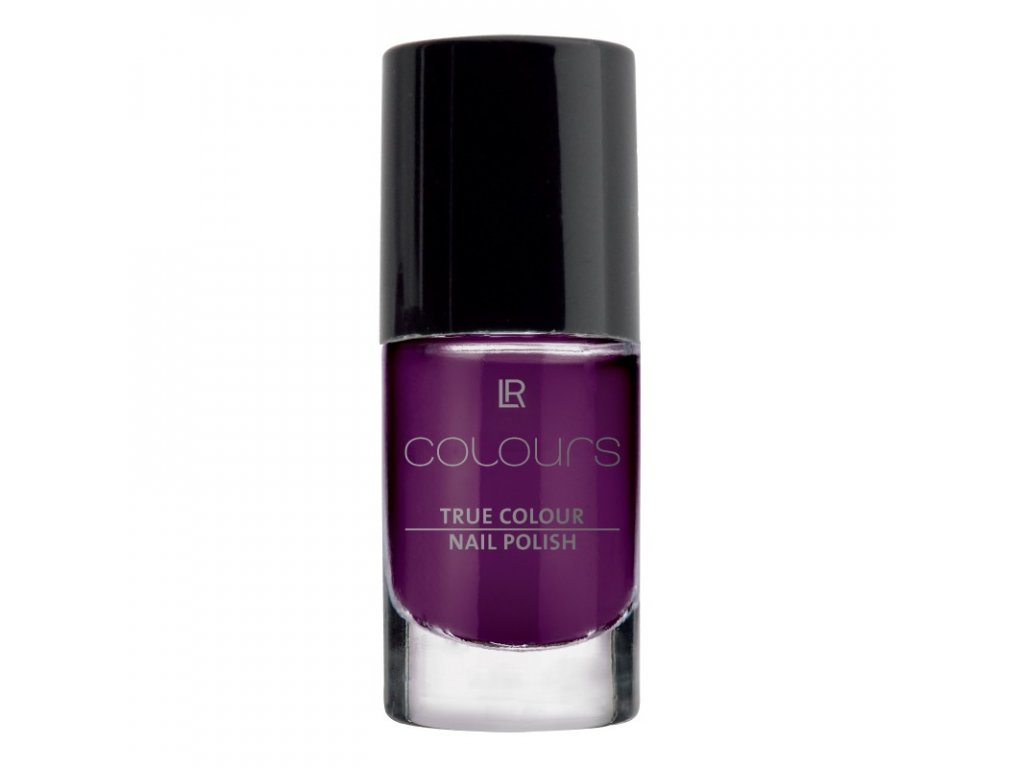 LR Colours Lak na nechty True Colour (odtieň Lady Lilac) 5,5 ml