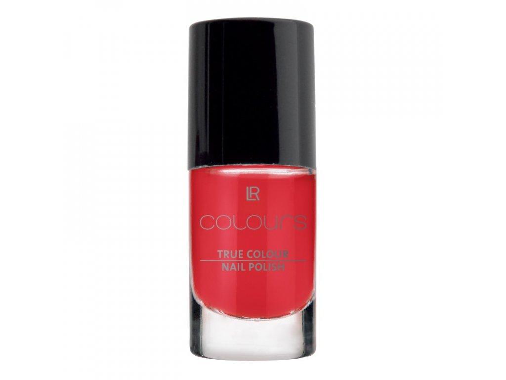 LR Colours Lak na nechty True Colour (odtieň Red Kiss) 5,5 ml