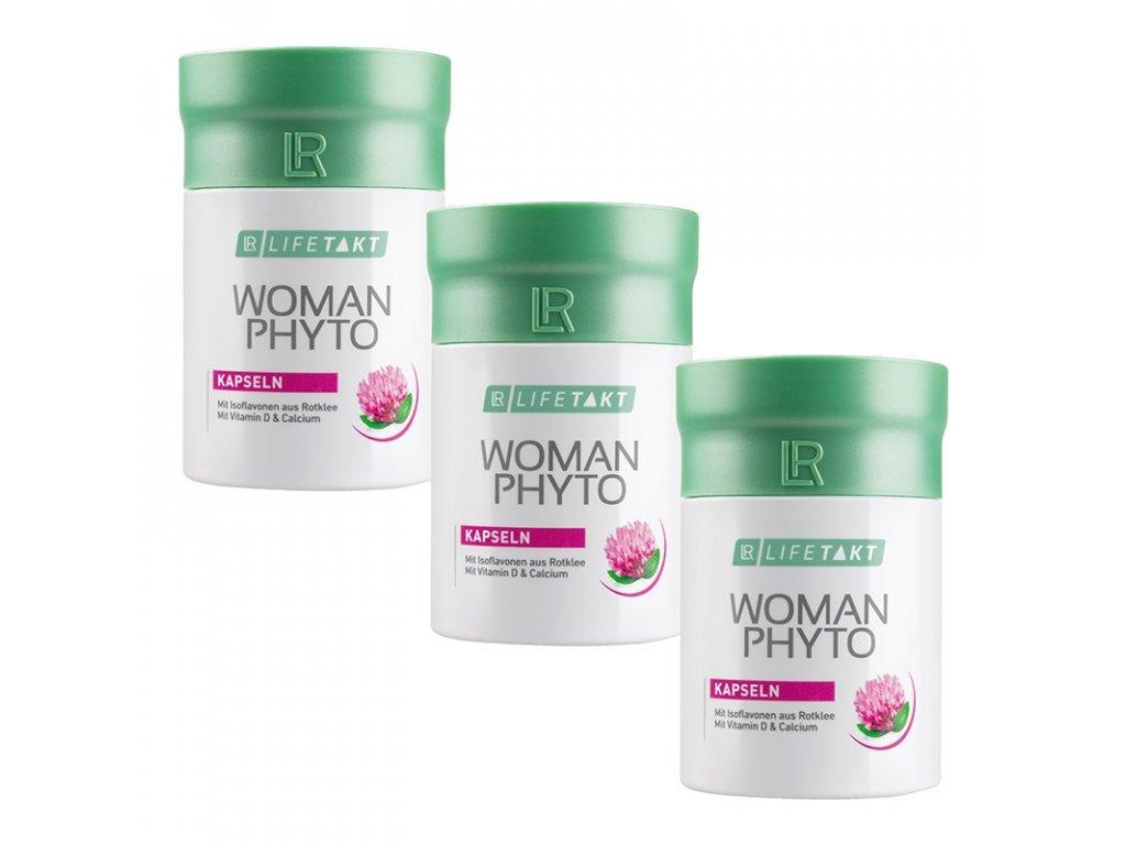 LR LIFETAKT Woman Phyto Kapsuly Séria 3 x 90 kapsúl / 46,8 g