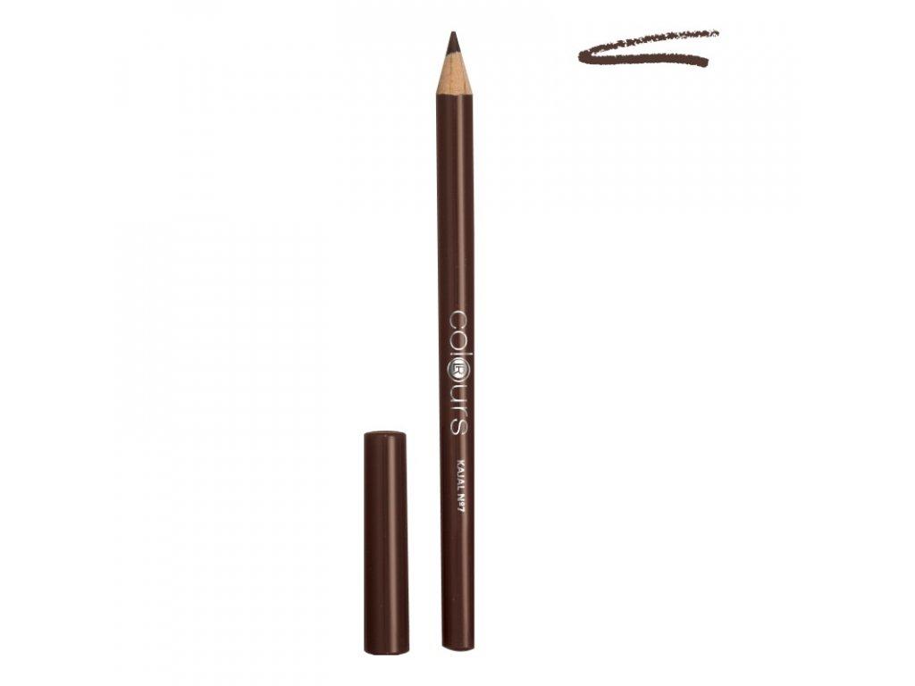 LR Colours Kajalová ceruzka (odtieň Dark Hazel) 1,1 g