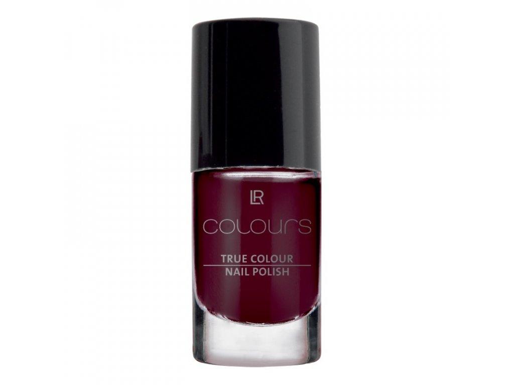 LR Colours Lak na nechty True Colour (odtieň Black Cherry) 5,5 ml