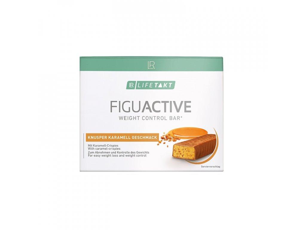 LR LIFETAKT Figu Active Tyčinka Chrumkavý karamel 6 x 60 g