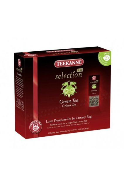 Green tea Teekanne Selection 1882