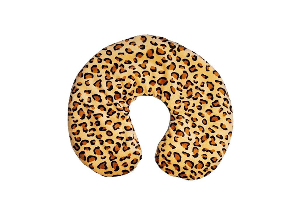 Termofor zahřívací krční - leopard