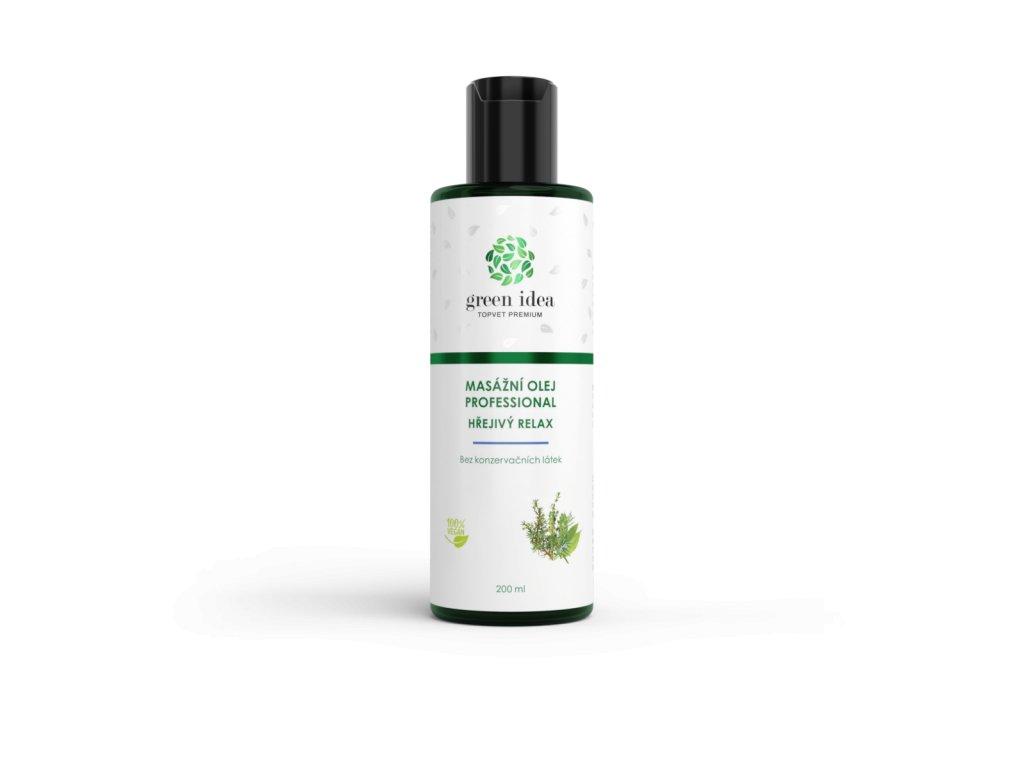 Hřejivý relax - olej 200 ml