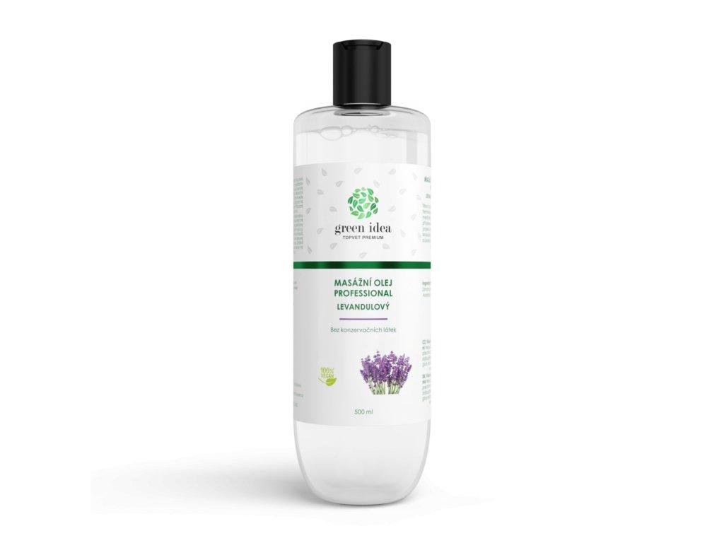 Levandulový masážní olej 500 ml