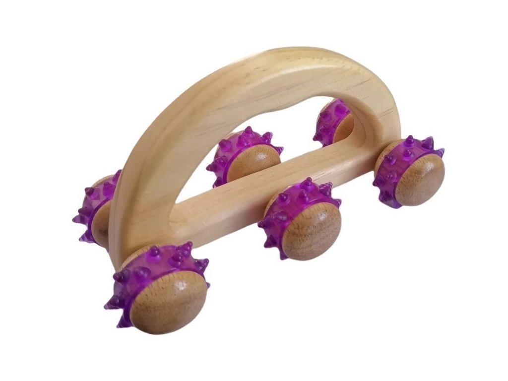 Akupresurní masážní přístroj LUNOCHOD (vozík)