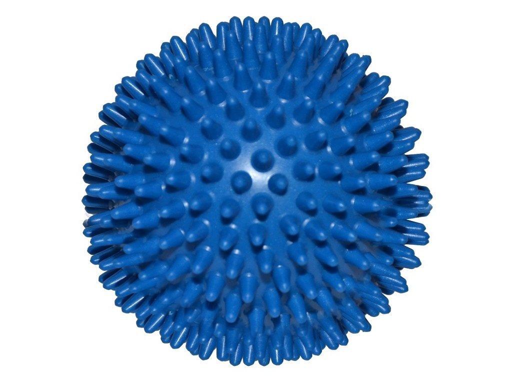 Ježek míč 10 cm modrý