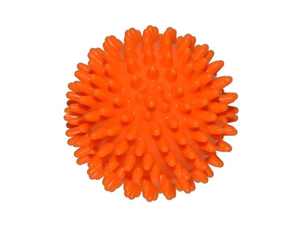 Ježek míč 6 cm oranžový