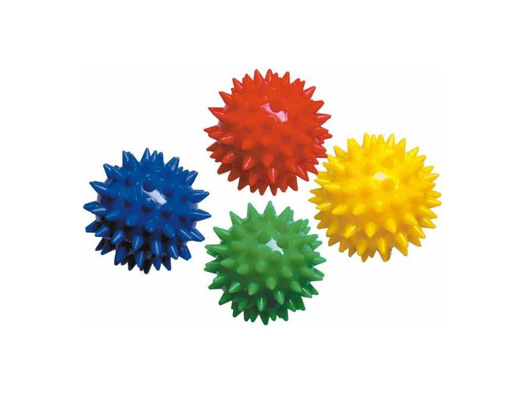 Masážní míček - ježek - color 5 cm