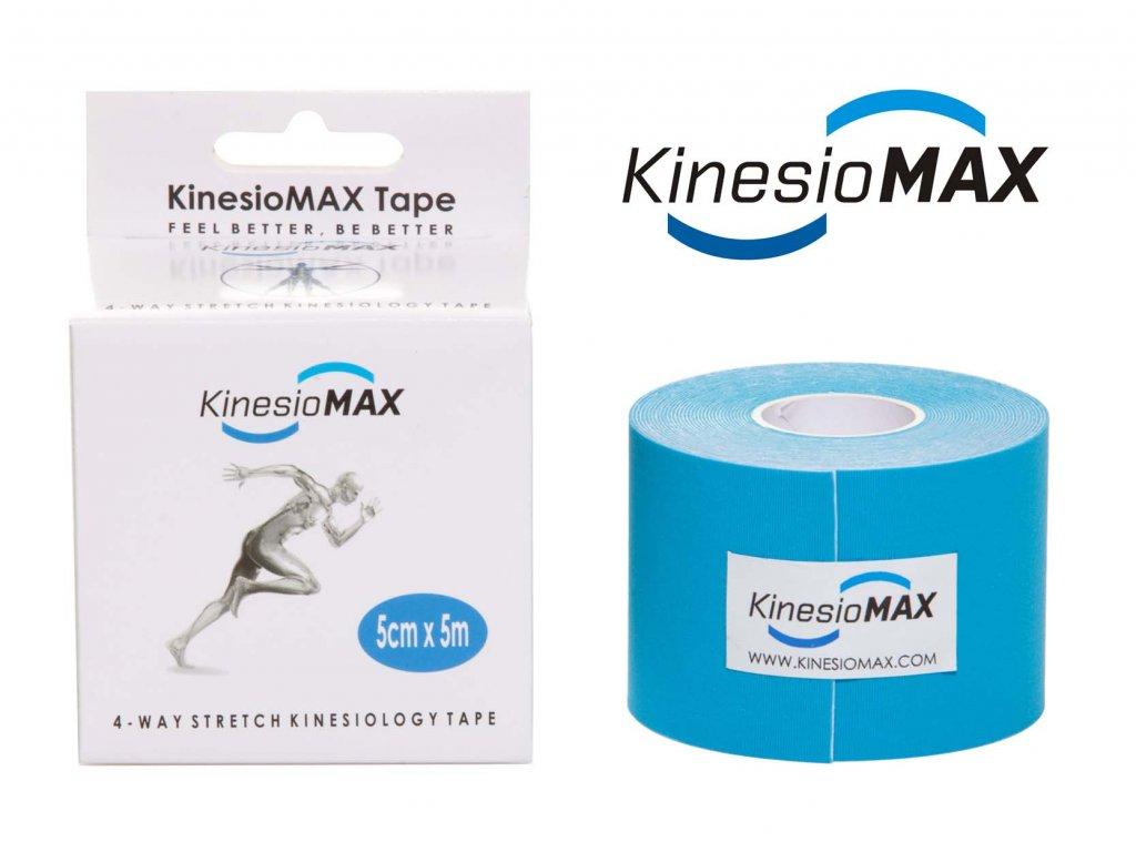 Kine-MAX 4WAY Tape - modrý 5cm x 5m - roztažitelný oběma směry