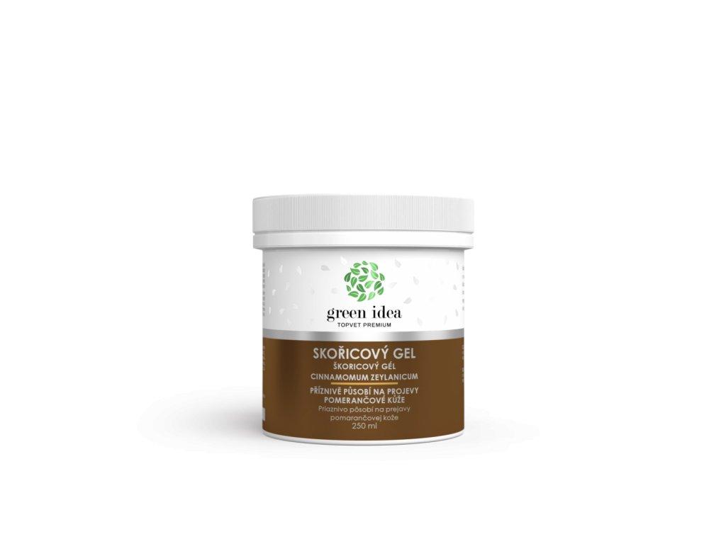Skořicový masážní gel 250 ml