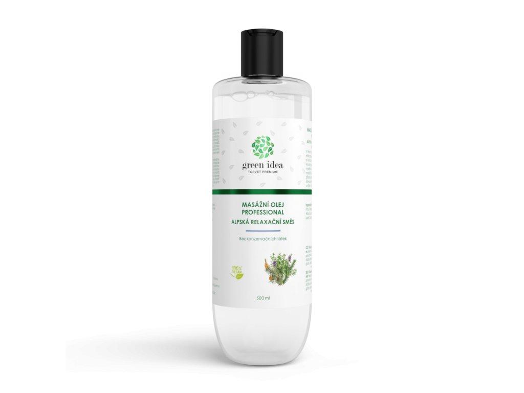 Alpská relaxační směs - olej 500 ml