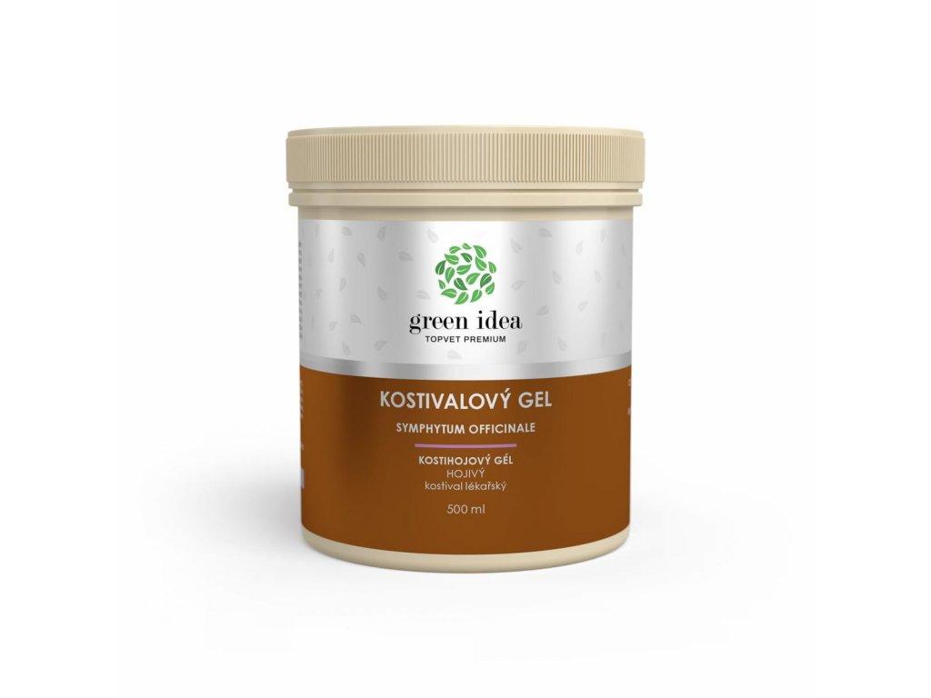 Kostivalový masážní gel 250 ml