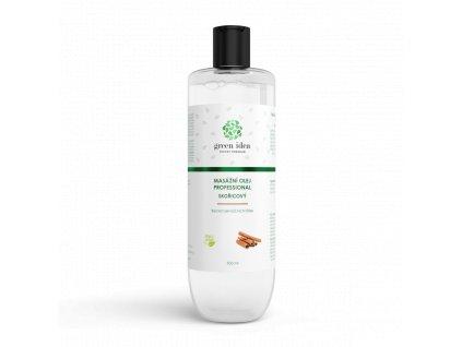 Skořice - masážní olej professional 500 ml