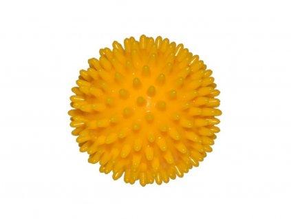 Ježek míč 8 cm žlutý