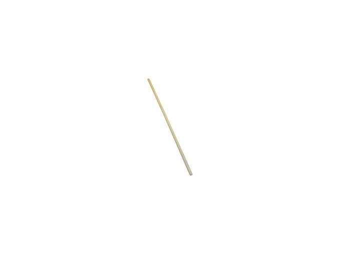 Tyč dřevěná 140 cm, bez závitu
