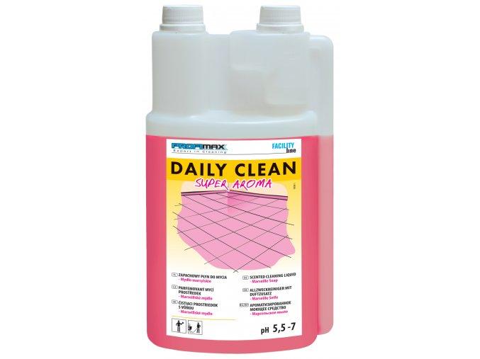 DAILY CLEAN SUPER AROMA, Marseillské mýdlo, 1 l