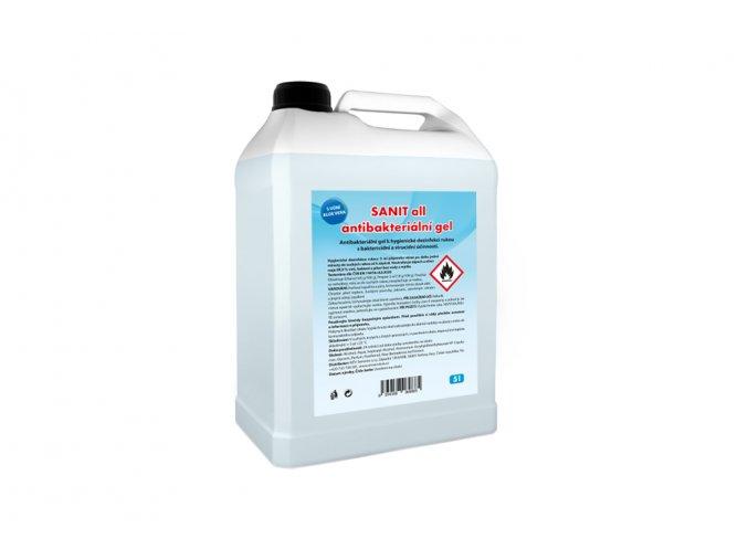 SANIT all antibakteriální gel