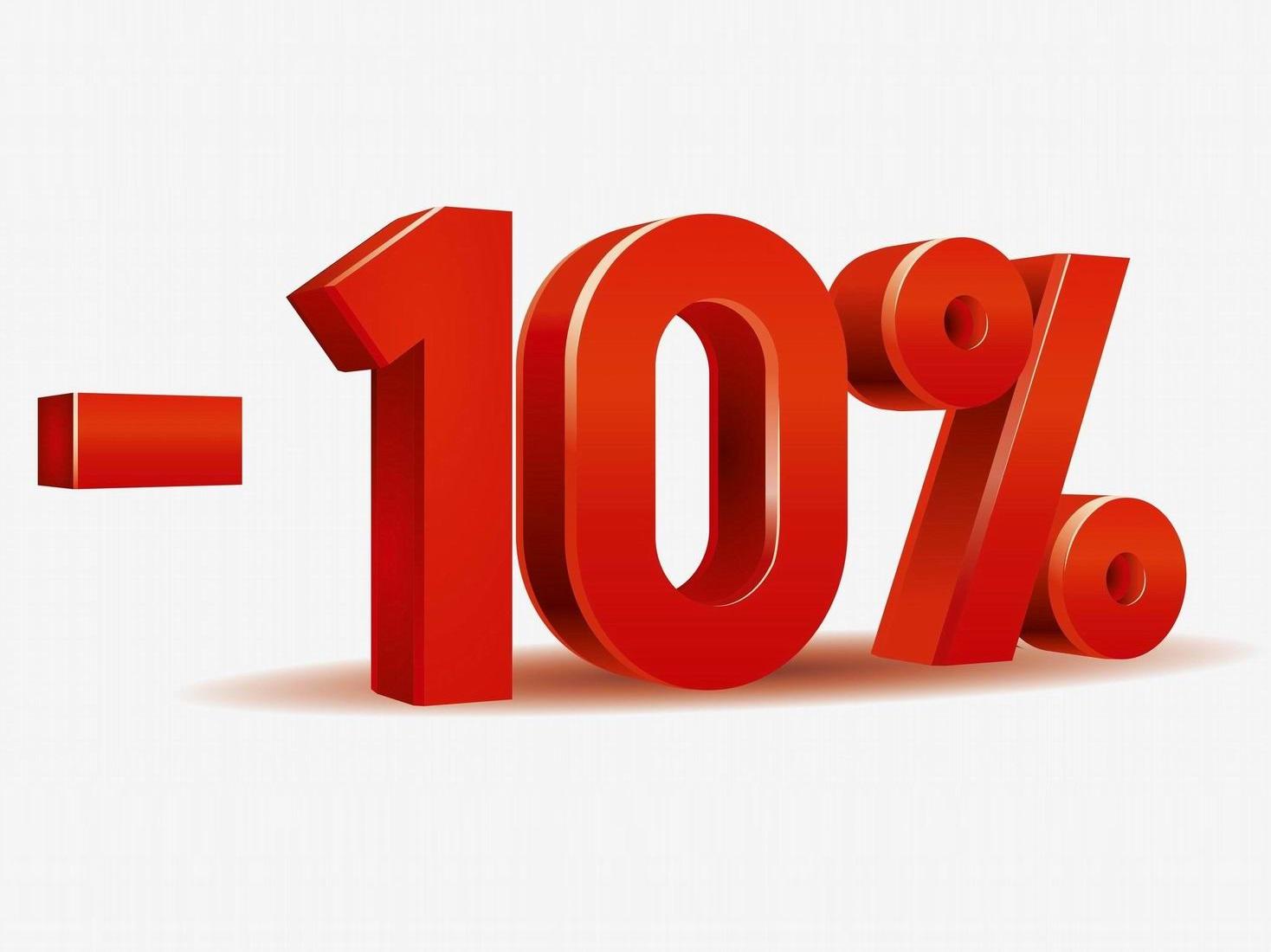 Časově omezená SLEVA 10%