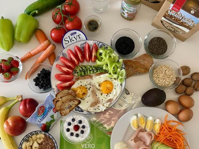 Snídaně po VERO dietě --- video uvnitř článku