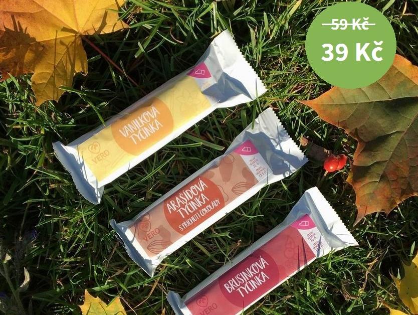 Vybrané proteinové tyčinky - SLEVA 34% - akce skončila