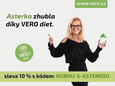 Jitka Asterová zhubla díky VERO dietě | VERO diet - akce skončila