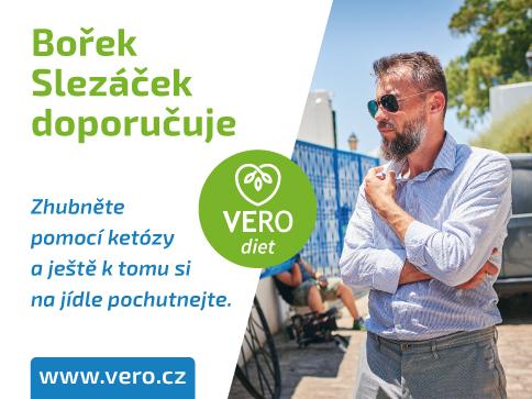 Bořek Slezáček zhubl s VERO diet