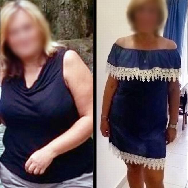 Iva, 45 let / proměna za 12 týdnů