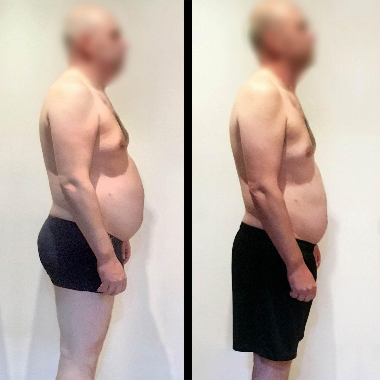 Pavel, 42 let / proměna za 12 týdnů