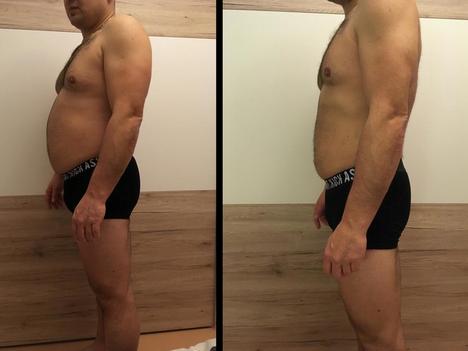 Roman, 41 let / proměna za 9 týdnů