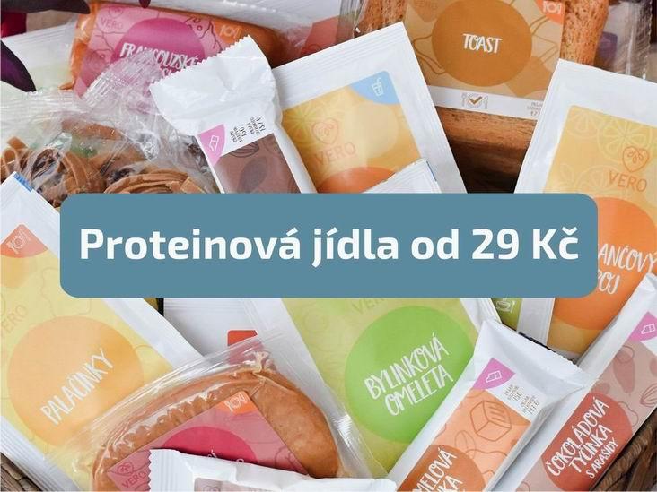 VERO diet - keto dieta jídla od 29 Kč
