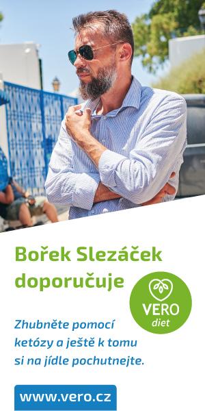 Bořek Slezáček hubne s VERO diet