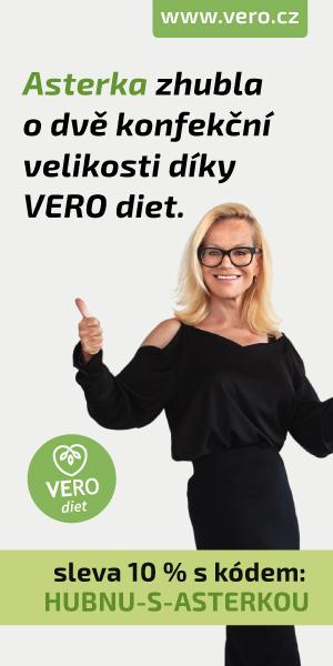 Jitka Asterová zhubla o 2 konfekční velikosti díky VERO diet