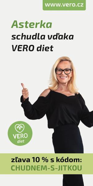 Jitka Asterová schudla vďaka VERO diet