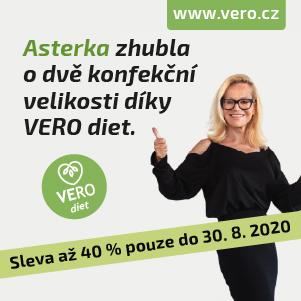 VERO diet - keto dieta jídla 34,90 Kč