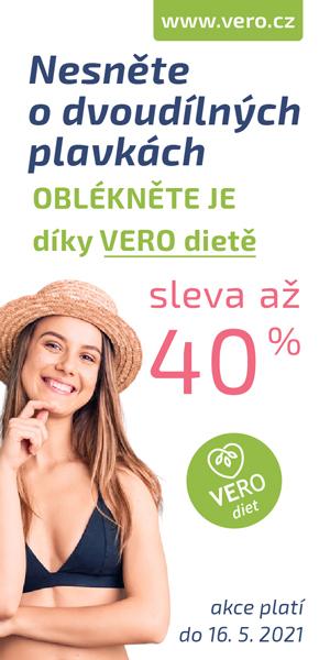 Jarní sleva 40% s VERO diet