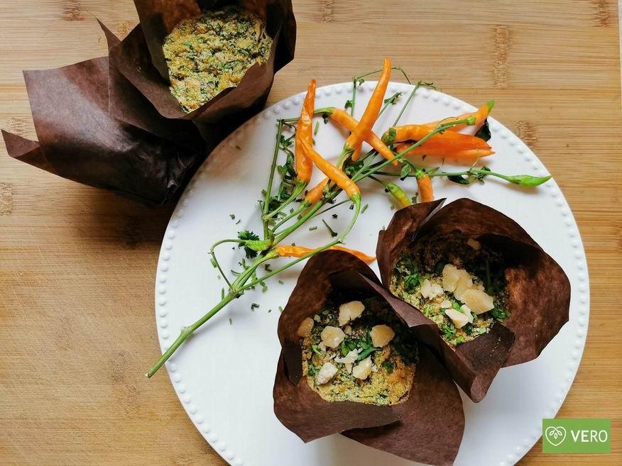 Hříbkové muffiny - keto recept