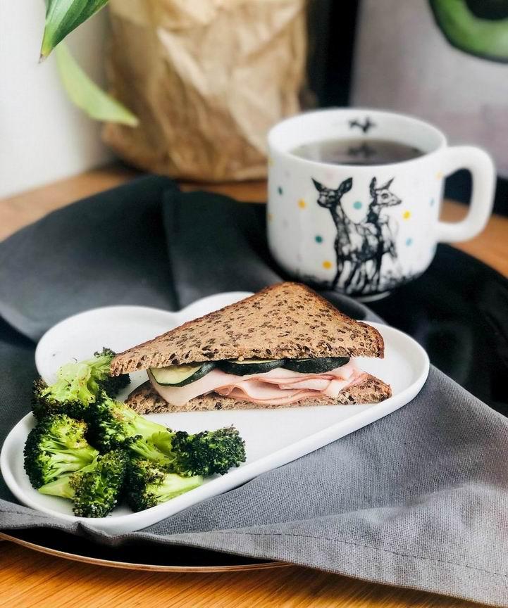 Sendvič z VERO proteinového chleba