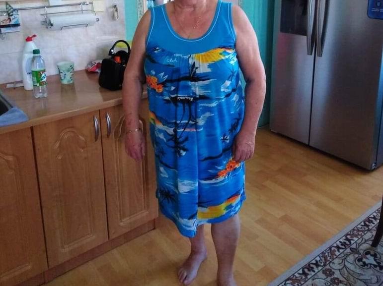 Marie zhubla s proteinovou VERO dietou - foto PŘED