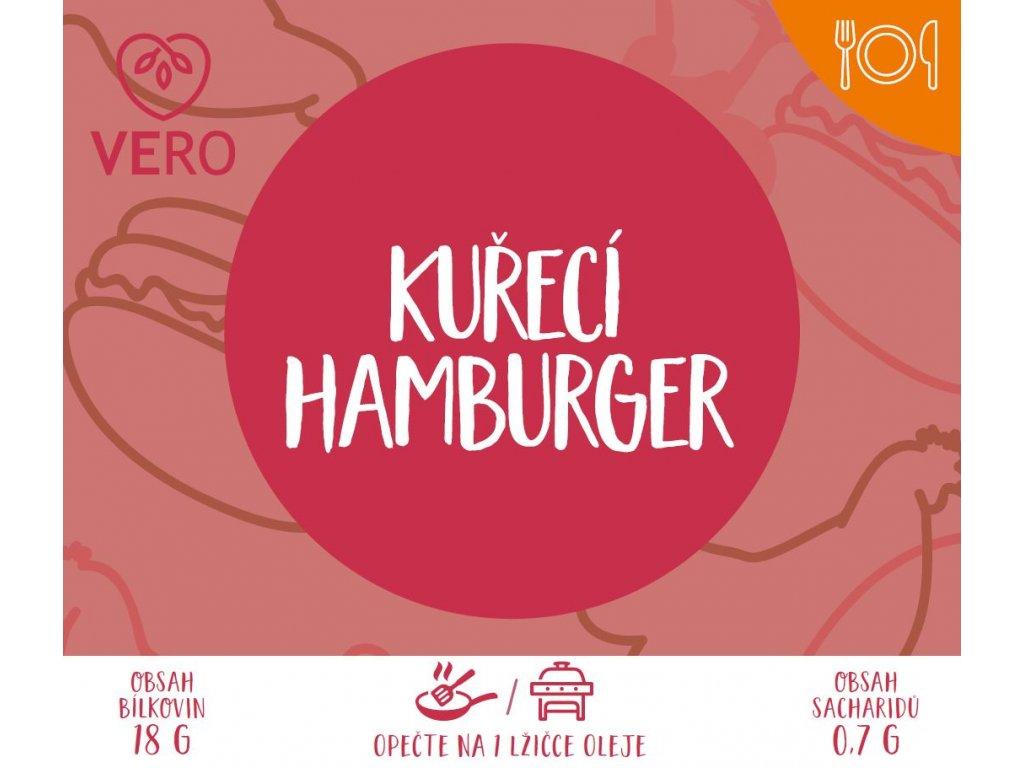Kuřecí hamburger (90g)