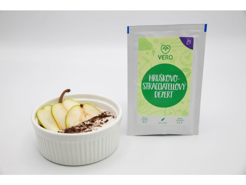 Hruškovo-stracciatellový dezert (24,5g)