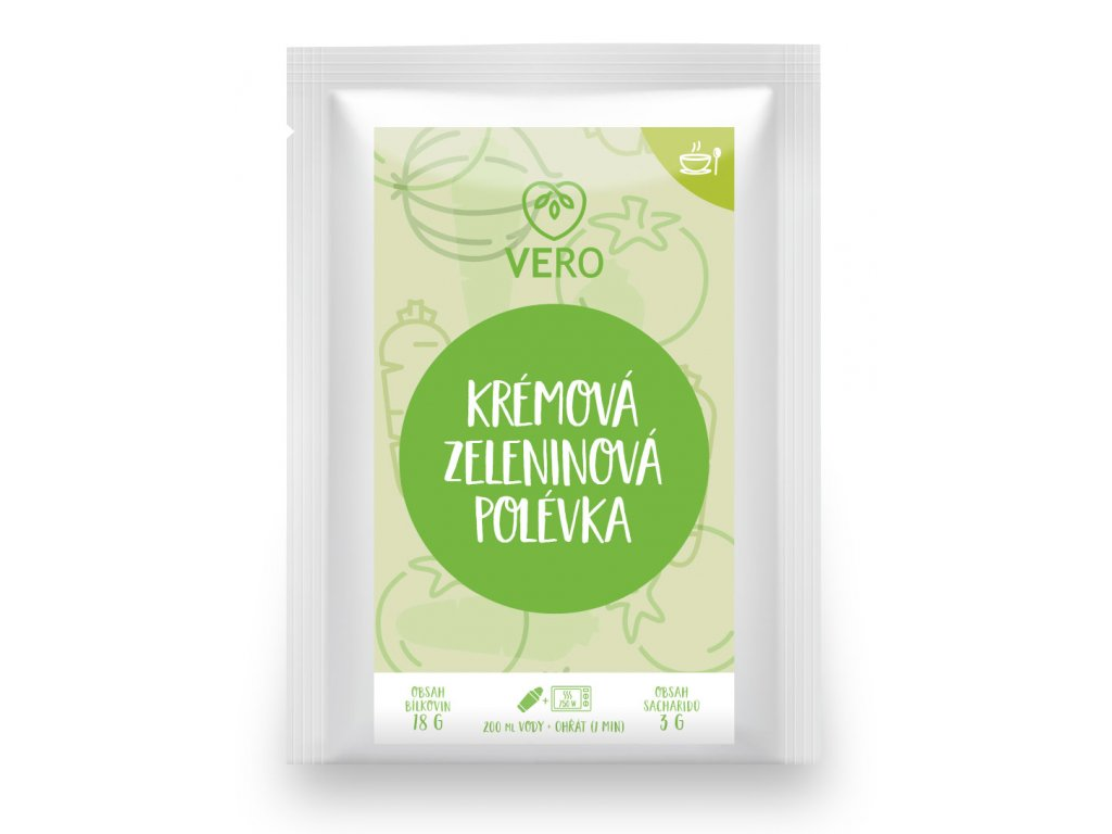 Krémová zeleninová polévka (27,5g)
