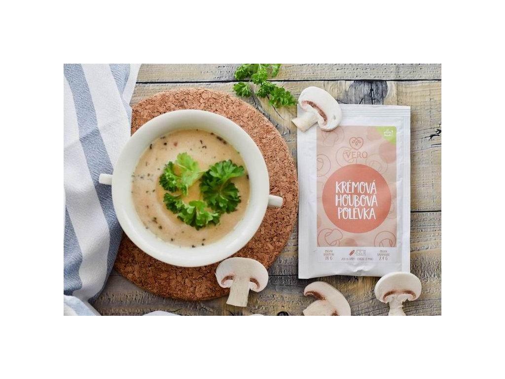 Krémová houbová polévka (25g)