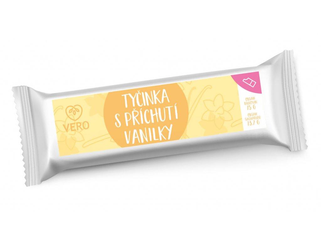 Tyčinka s příchutí vanilky (44g)