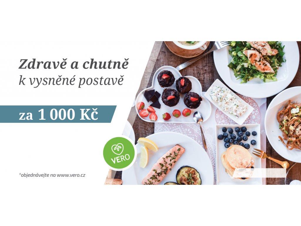 Dárkový poukaz - 1000 Kč
