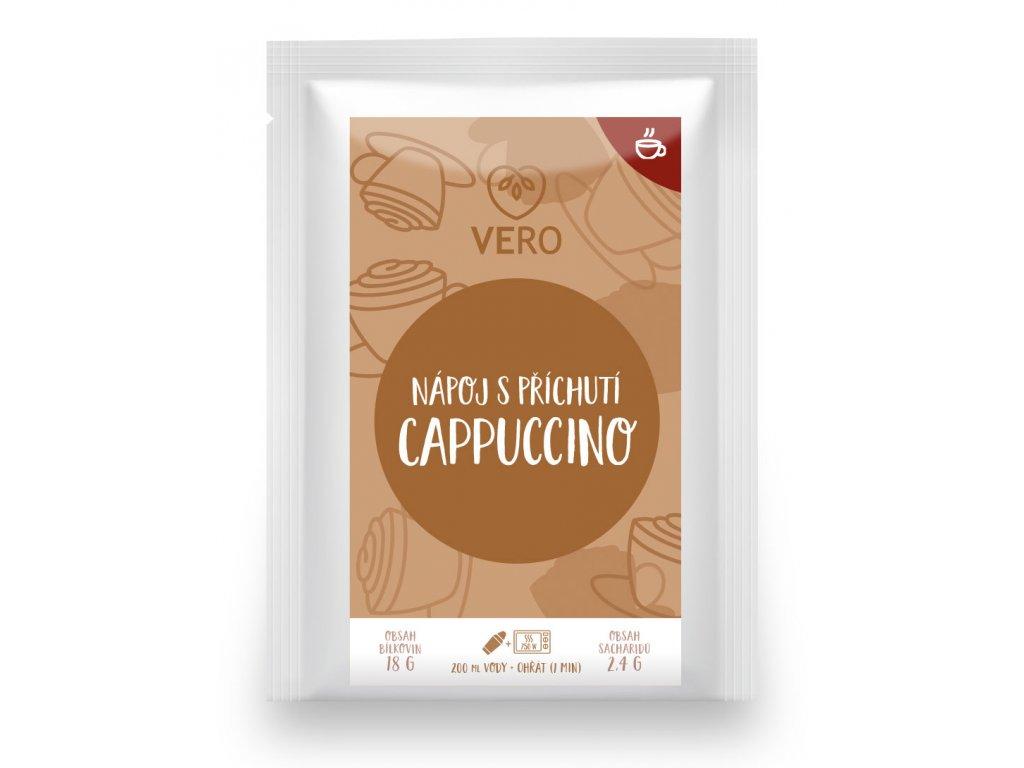 Nápoj s příchutí Cappuccino (25g)