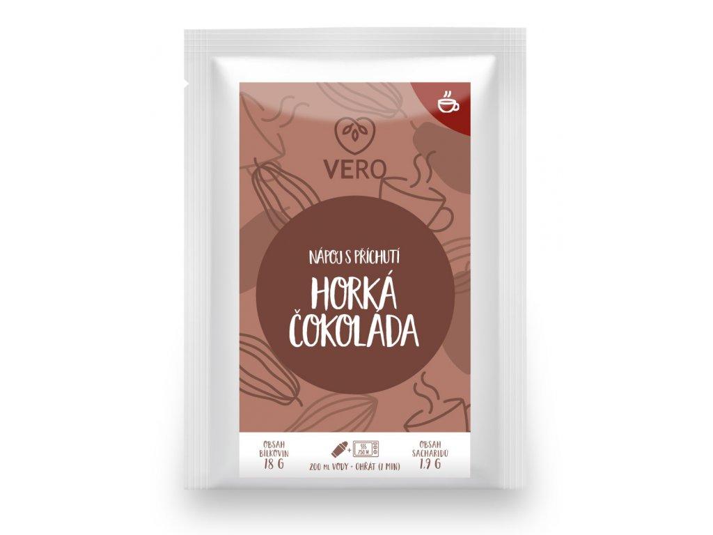 Nápoj s příchutí Horká čokoláda (27g)